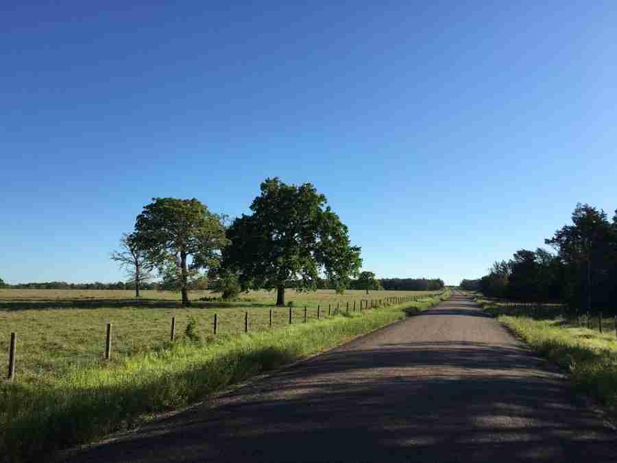 Day 31: La Grange to Richards, Texas – 89 miles