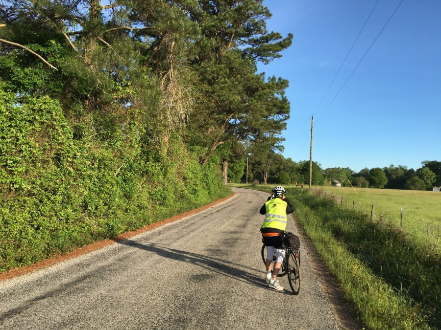 Day 34: Shepherd to Silsbee, Texas – 61 miles