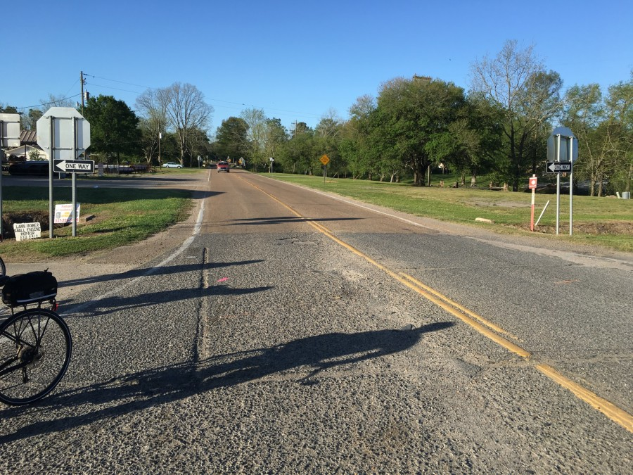 Day 37: Opelousas to St. Francisville, Louisiana – 67 miles