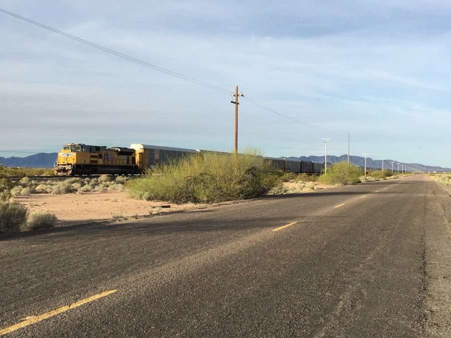 Day 6: Dateland to Gila Bend, Arizona – 52 miles