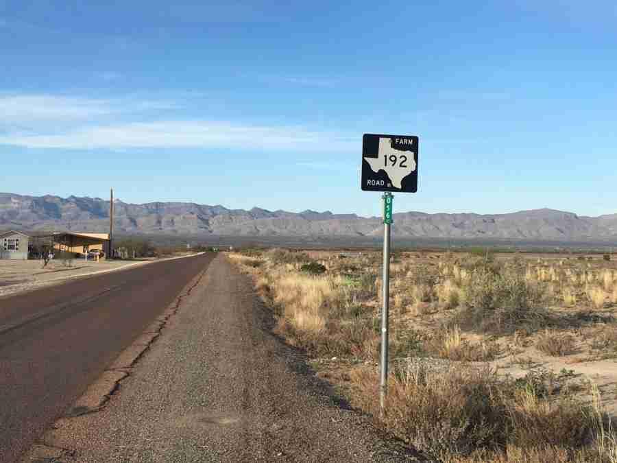 Day 18: Ft. Hancock to Van Horn, Texas – 72 miles