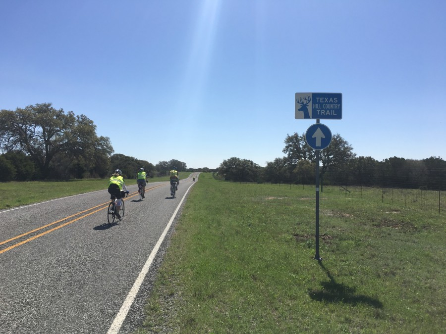 Day 27: Concan to Kerrville, Texas – 72 miles
