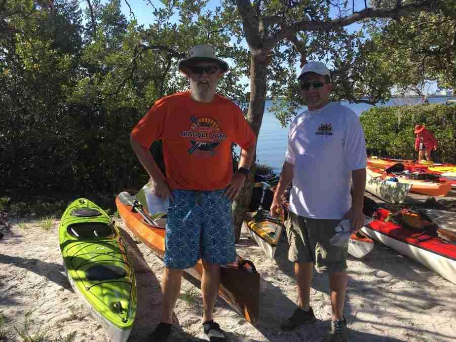 Terra Ceia kayak poker regatta