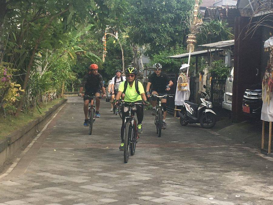 A planned bike ride tour to Ubud with Sanur Cycle Tours