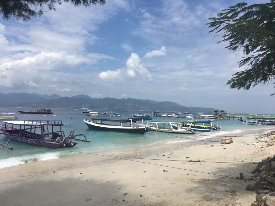 Lombok Island, Sengiggi Beach and Gili Trawangan island
