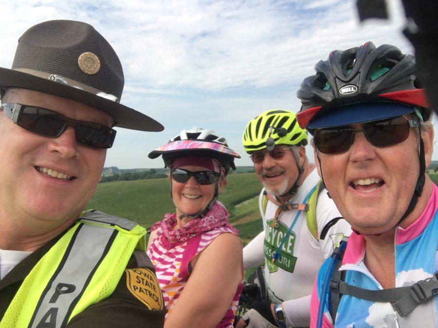 Day 2 RAGBRAI-Onawa to Dennison-47 miles with 2020 feet of elevation