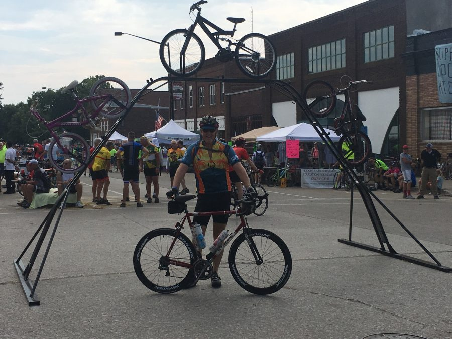 Day 2-RAGBRAI-Dennison-Jefferson 74 miles with 3100 feet of elevation.