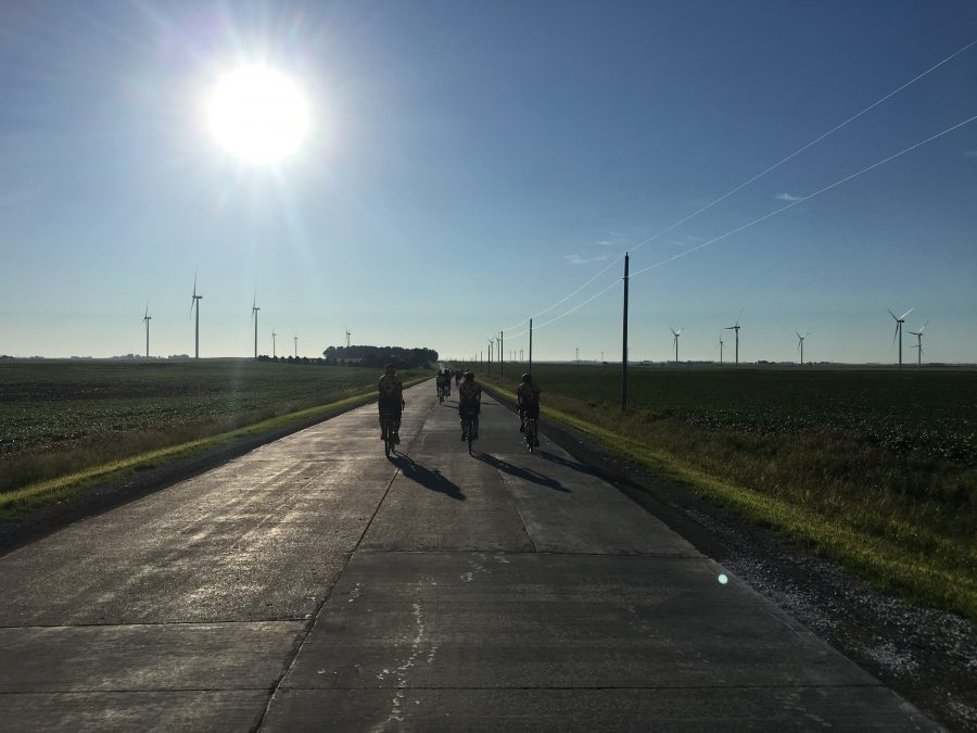 Day 3-Jefferson to Ames-61 miles with 1025 feet of elevation