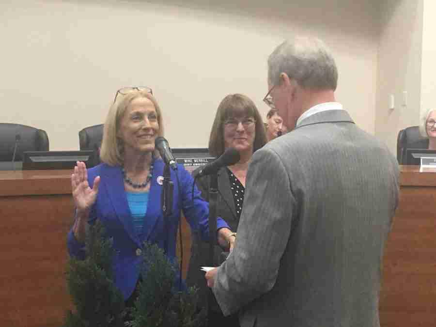 Commissioner Mariella Smith's Investiture Ceremony-November 20, 2018
