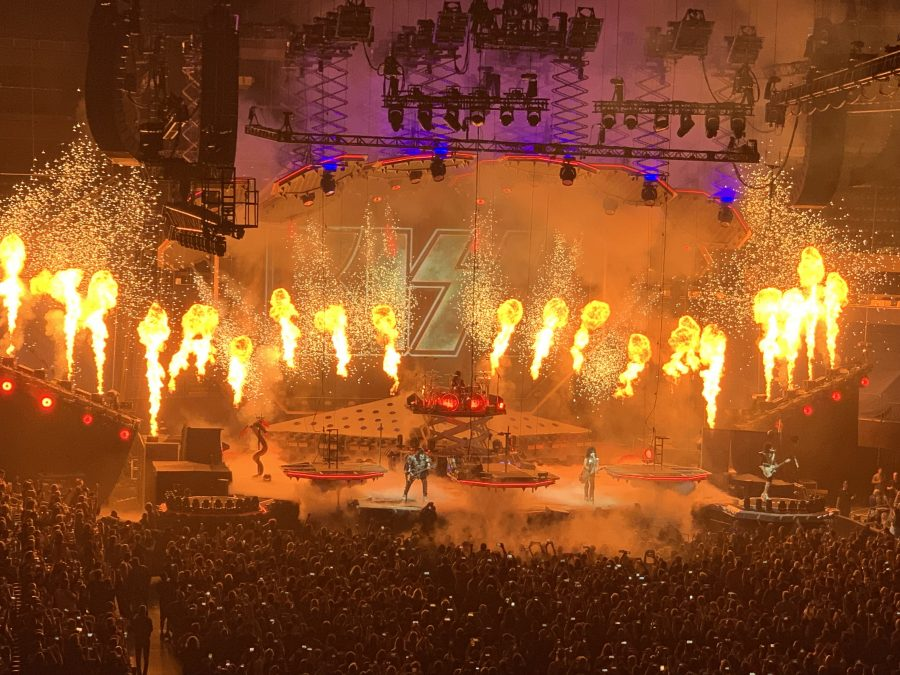 KISS End Of The Road Tour-Amalie Arena, Tampa, Florida. April 11, 2019