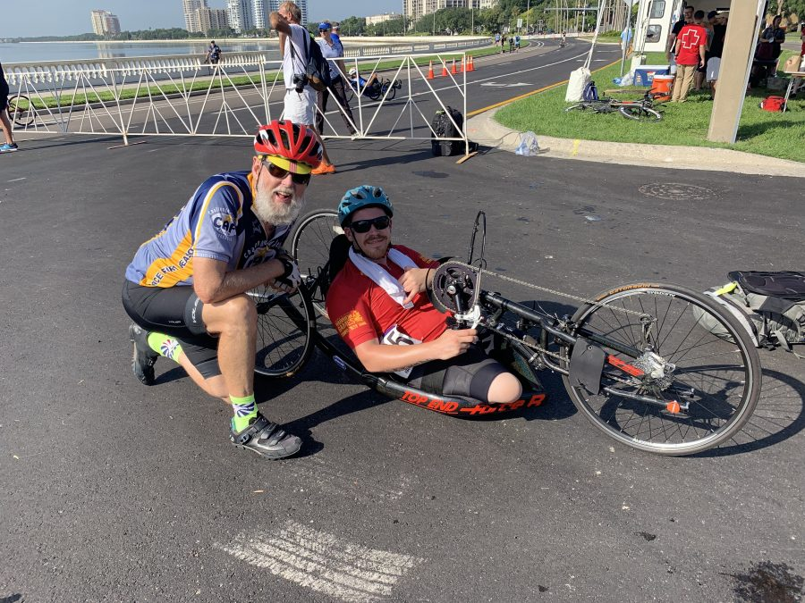 DoD Warrior Games 2019 Adaptive time trial cycling-Tampa