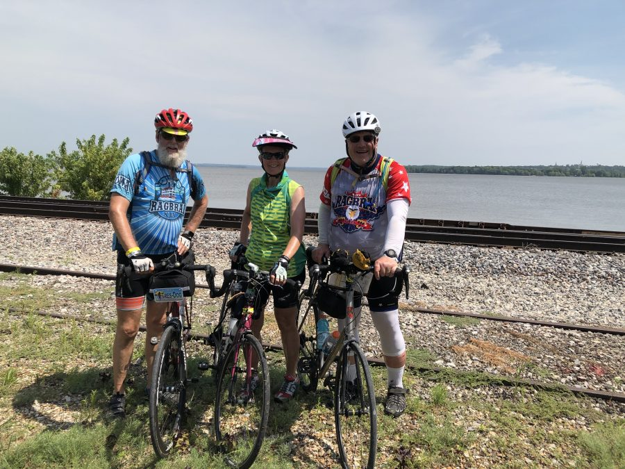 RAGBRAI-Day 7-Burlington to Keokuk, Iowa-70 miles with 1900 feet of elevation