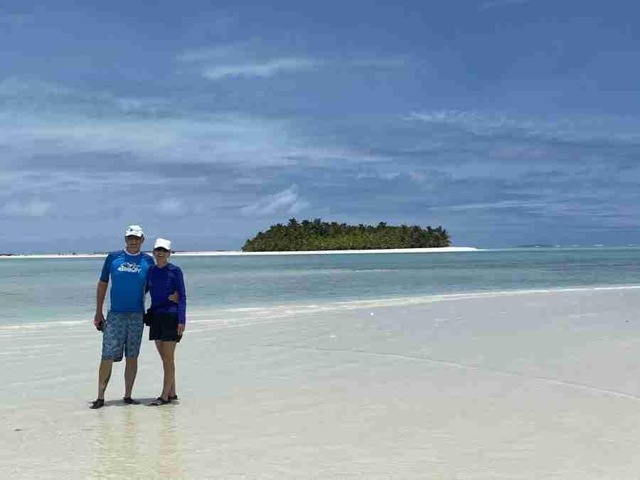 Aitutaki lagoon cruise