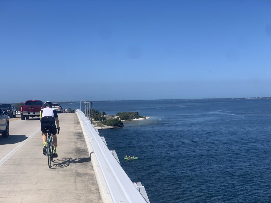 Off/On island ride-44 miles