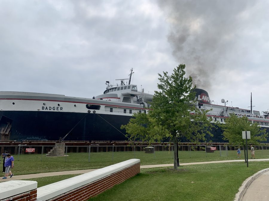Day 44-Green Bay to Manitowoc, WI-40 miles and 681 feet of elevation then S.S. Badger across Lake Michigan.