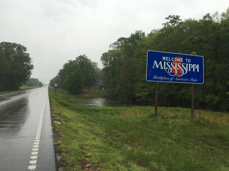 Day 40: Franklinton, Louisiana to Poplarville, Mississippi – 44 miles