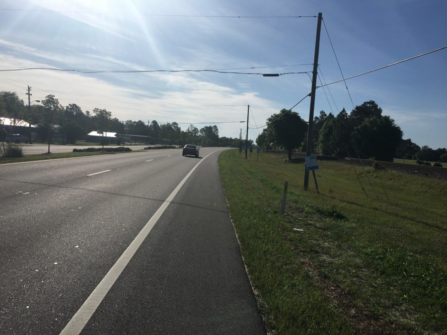 Day 46: DeFuniak Springs to Marianna, Florida – 69 miles
