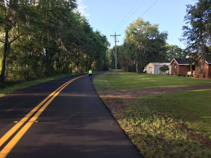 Day 49: Live Oak to High Springs, Florida – 48 miles