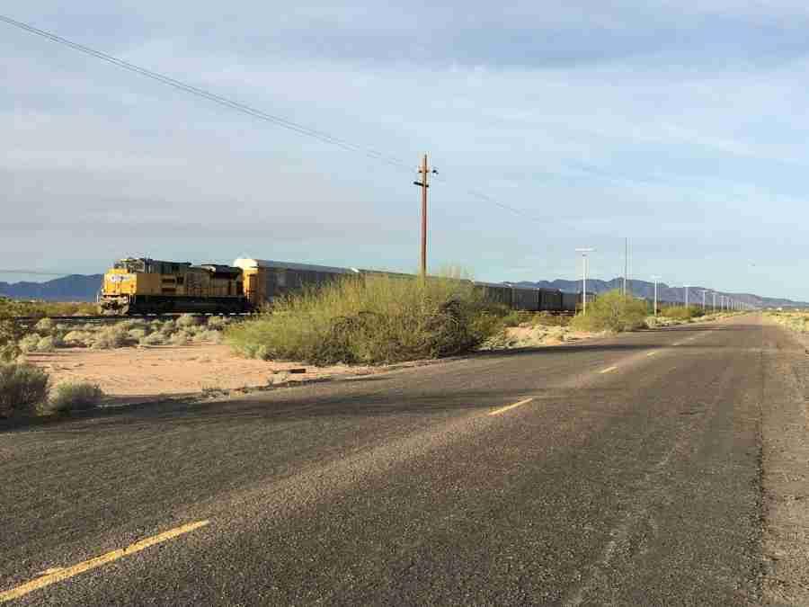 Day 6: Dateland to Gila Bend, Arizona – 52 miles
