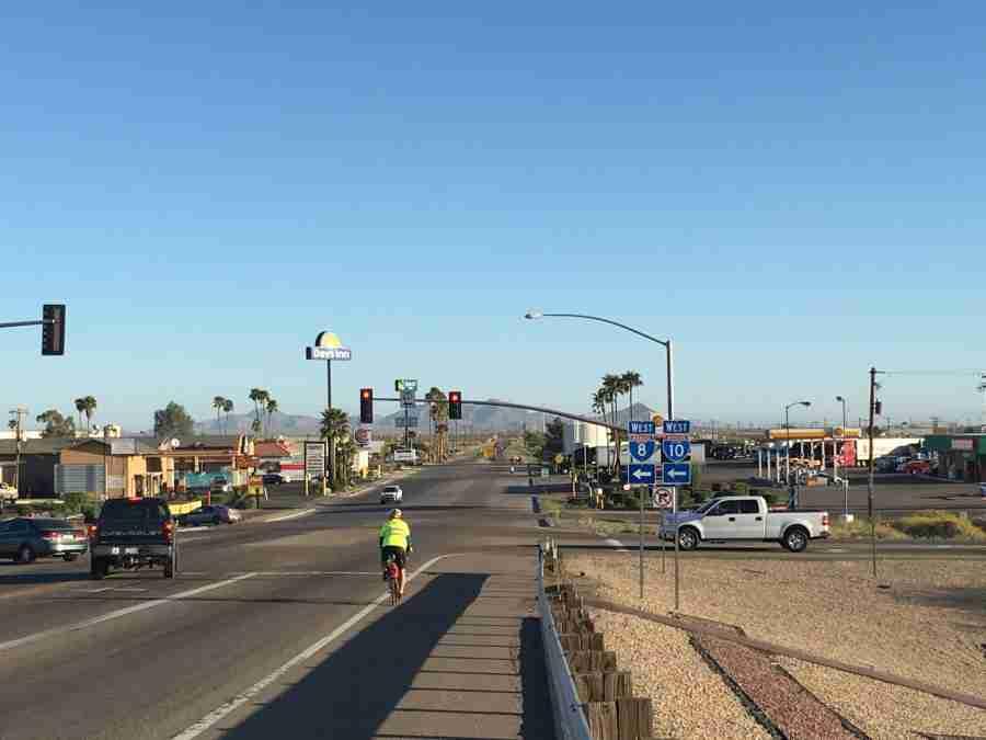 Day 8: Casa Grande to Catalina, Arizona – 61 miles