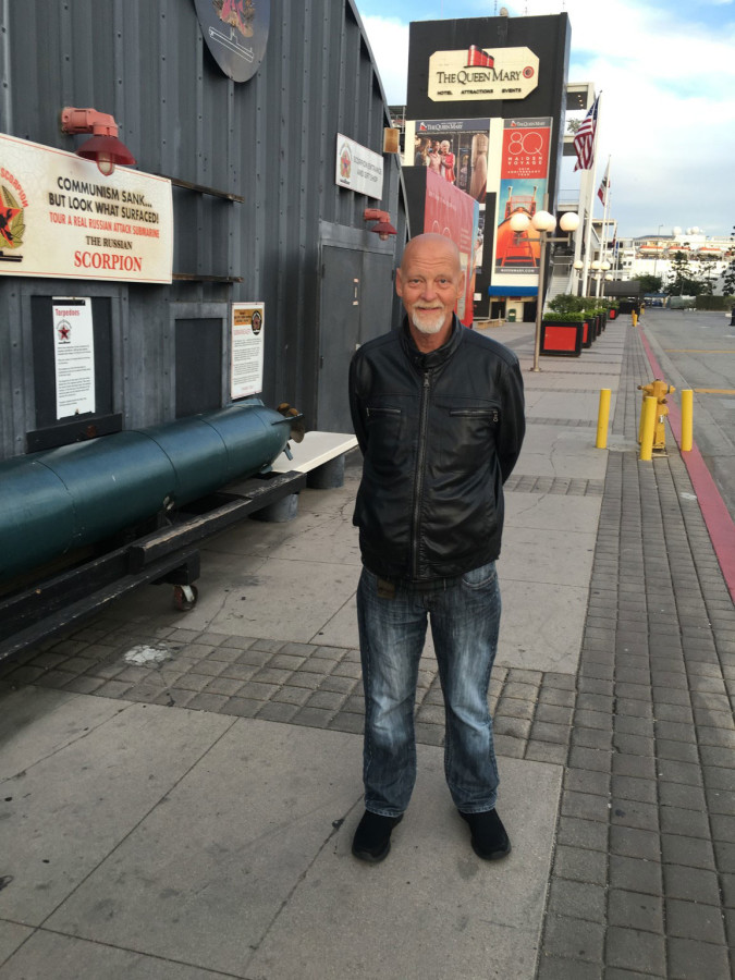 Joseph at the Queen Mary