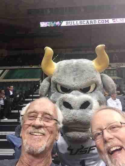 USF Bulls vs Delaware Blue Hens at the Sundome