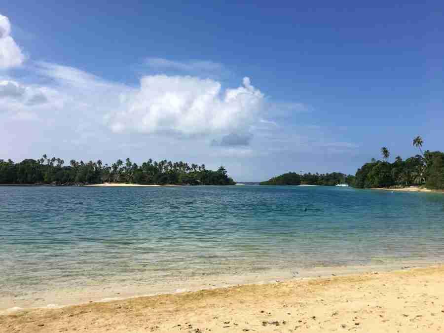 Oyster Island, Blue Hole and Luganville, Espiritu Santo, Vanuatu