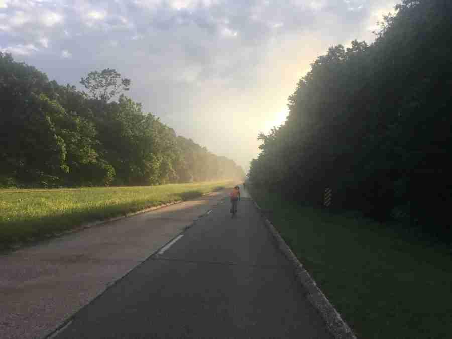 Big Bam-Waynesville to Cuba-57 miles.