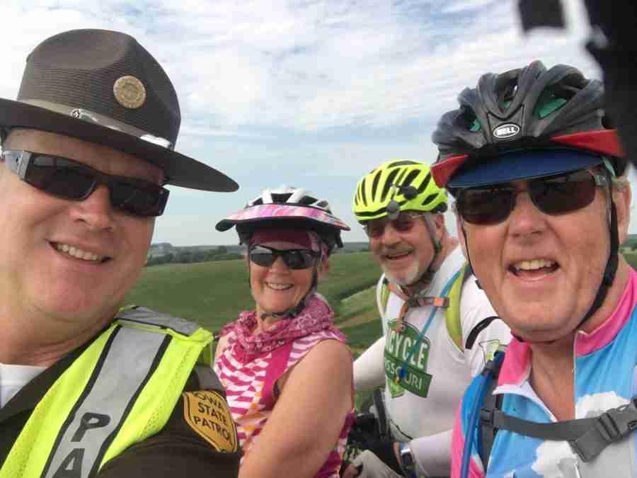 Day 2 RAGBRAI-Onawa to Dennison-47 miles with 2020 feet of elevation