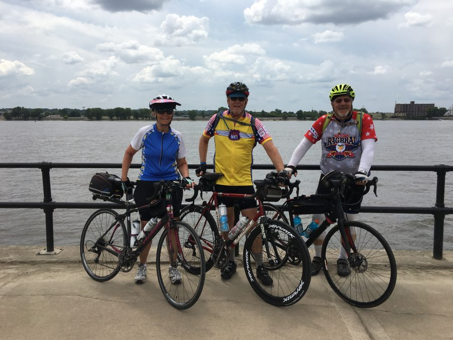 Day 7-RAGBRAI-Iowa City to Davenport-77 miles-1755 feet of elevation
