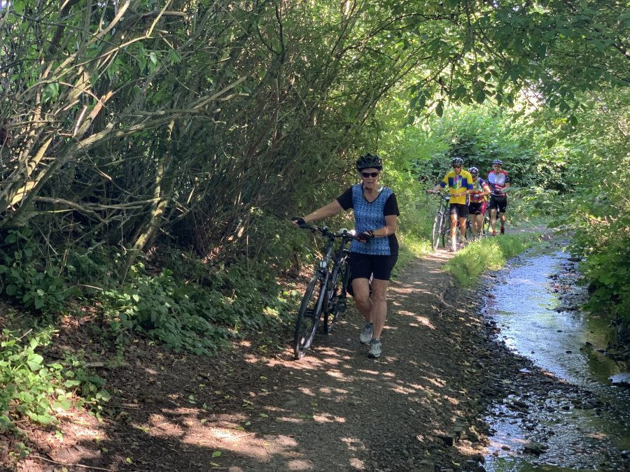Day 6-Shrewsbury to Ludlow-39 miles with 2400 feet of elevation