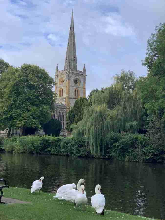 Day 9-Stratford upon Avon to Oxford-55 miles-1920 feet of elevation