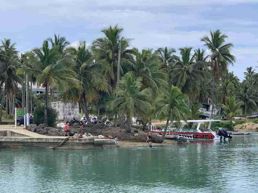 Monday morning Aitutaki