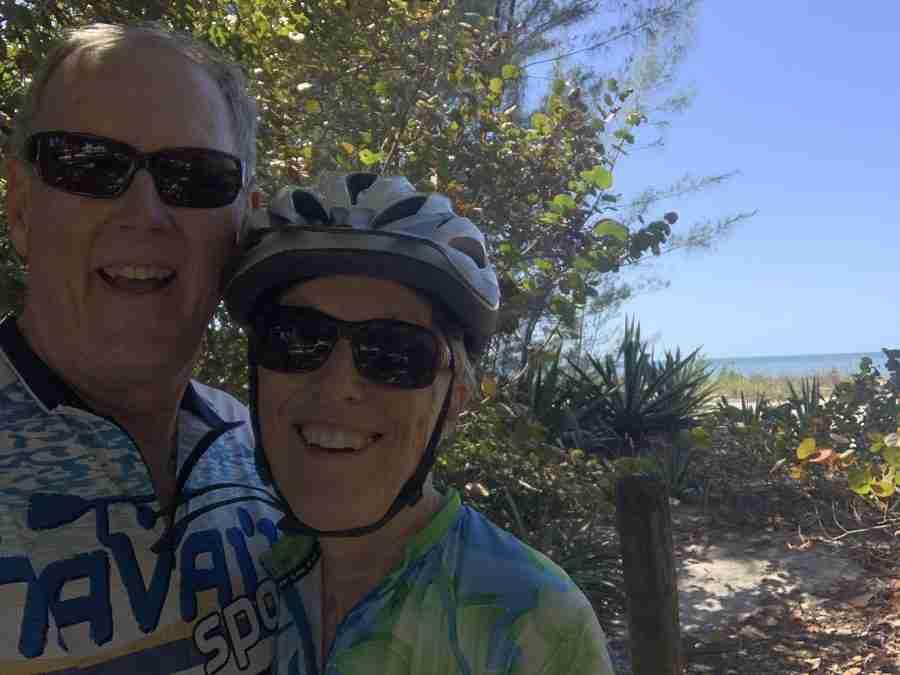 Sanibel-Captive bike ride-31 miles.
