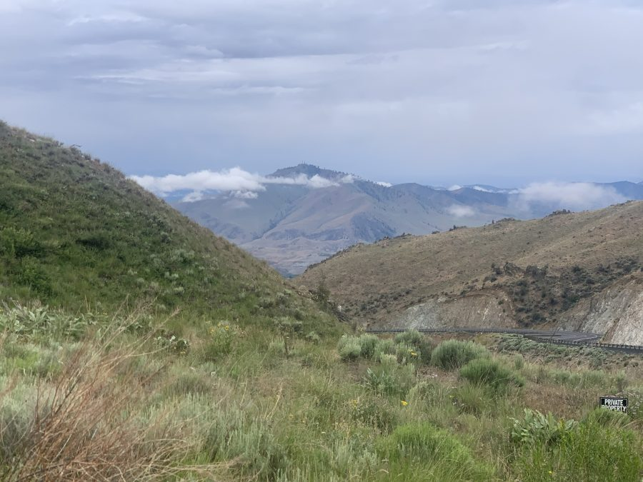 Day 6-Chelan to Coulee City, WA-56.5 miles and 3730 feet of elevation.