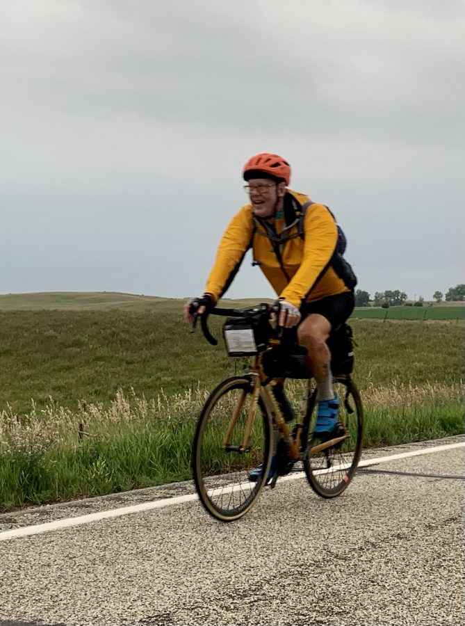 Day 31-Napoleon to Jamestown, ND-77 miles and 1910 feet of elevation.